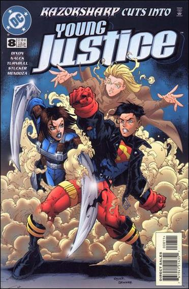 Young Justice (1998) 8-A by DC