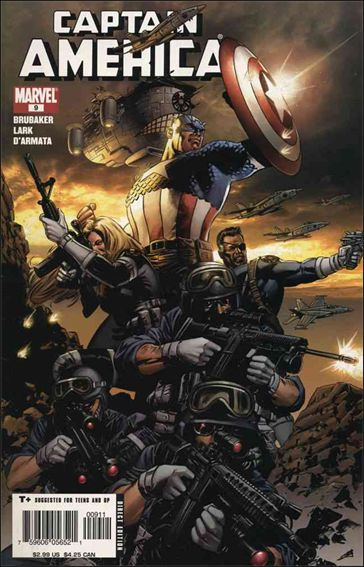Captain America (2005) 9-A by Marvel