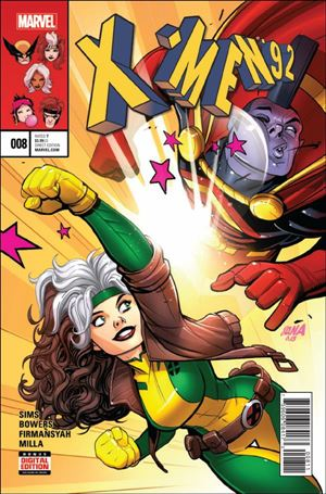 X-Men '92 (2016) 8-A