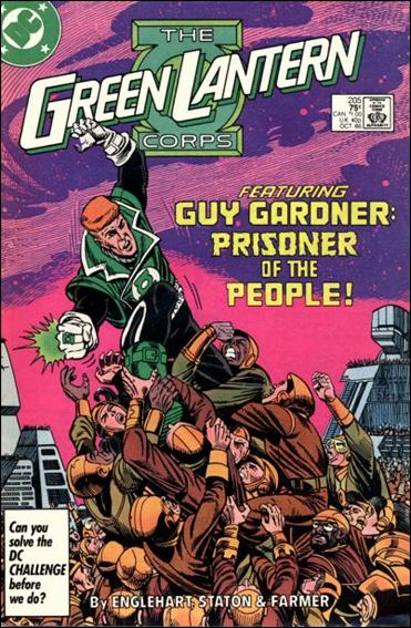 Green Lantern Corps (1986) 205-A by DC