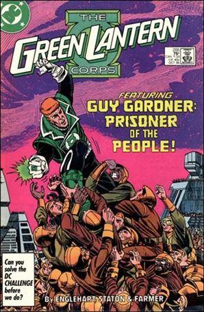 Green Lantern Corps (1986) 205-A