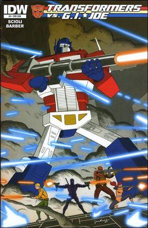 Transformers vs. G.I. Joe 3-B