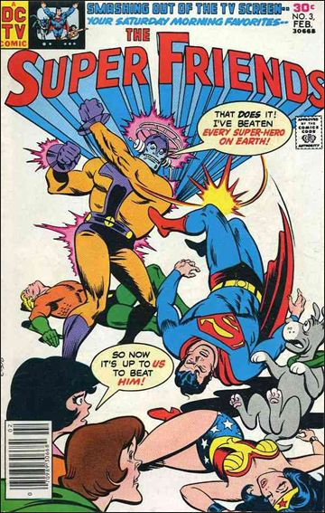 Super Friends (1976) 3-A by DC