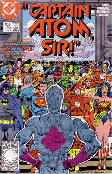 Captain Atom (1987) 24-A by DC