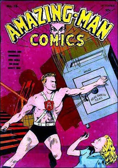 Amazing Man Comics 16-A by Centaur Publications Inc.