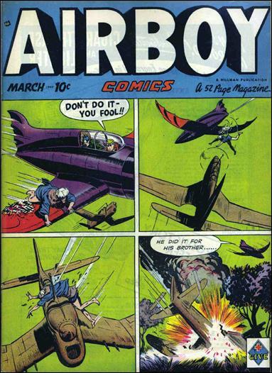Airboy Comics (1949) 2-A by Hillman