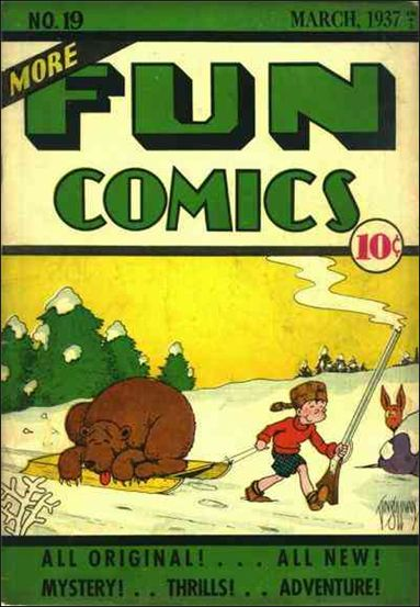 More Fun Comics 19-A by DC