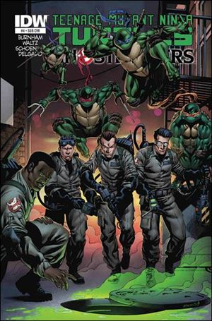 Teenage Mutant Ninja Turtles / Ghostbusters 4-B