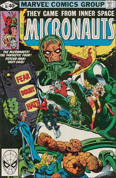 Micronauts (1979) 16-A by Marvel