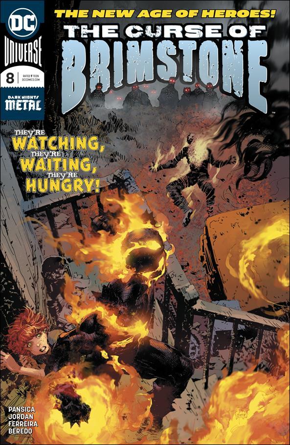 Curse of Brimstone 8-A by DC