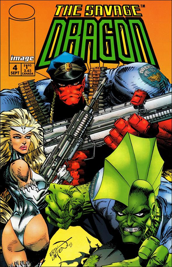 Savage Dragon (1993) 4-A by Image