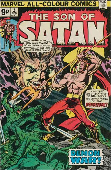 Son of Satan 2-A by Marvel