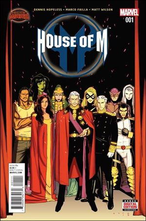 House of M (2015) 1-A