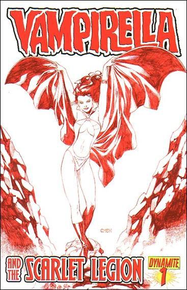 Vampirella and the Scarlet Legion 1-D by Dynamite Entertainment