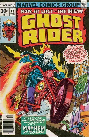 Ghost Rider (1973) 25-A by Marvel
