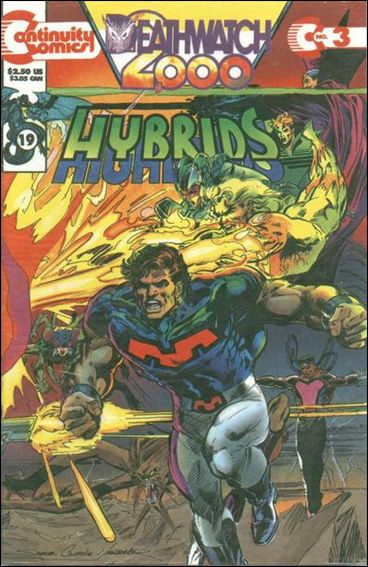 Hybrids Deathwatch 2000 3-B by Continuity Comics