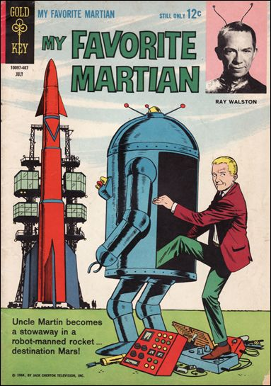My Favorite Martian (1964) 2-A by Gold Key