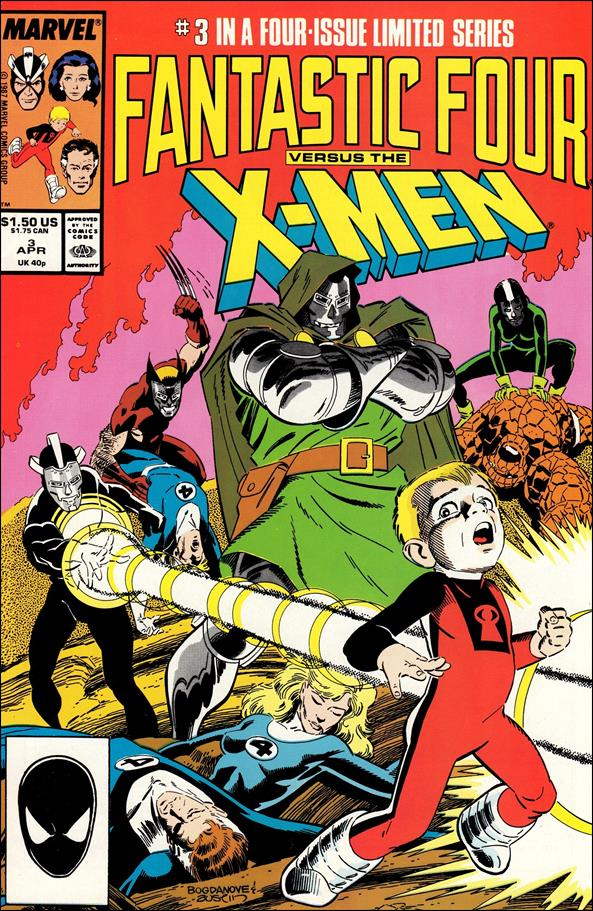 Fantastic Four vs X-Men 3-A by Marvel