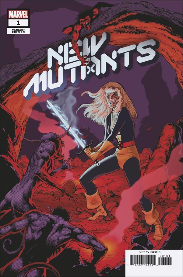 New Mutants (2020) 1-H by Marvel