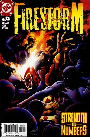 Firestorm (2004) 12-A by DC