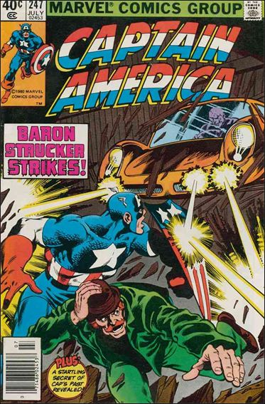 Captain America (1968) 247-A by Marvel