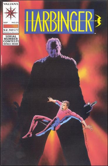 Harbinger (1992) 21-A by Valiant