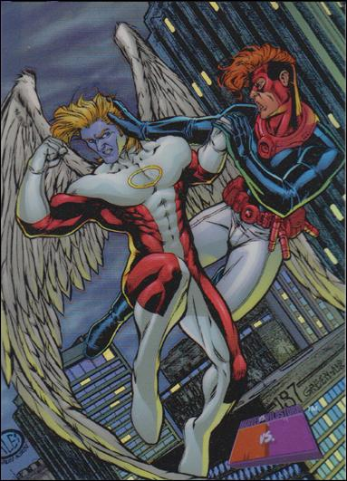 Marvel vs WildStorm (Chromium Refractor Parallel Base Set) 7-A by Fleer/SkyBox