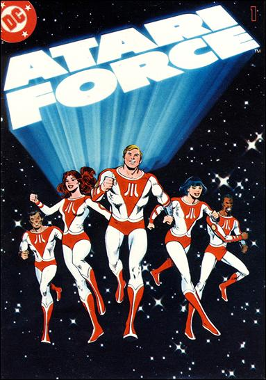 Atari Force (1982) 1-A by DC