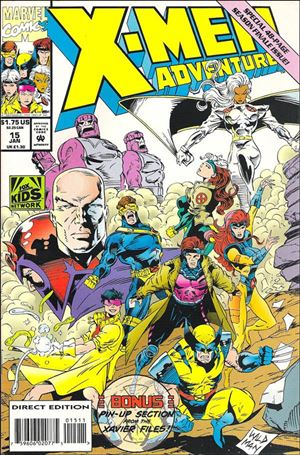 xmen adventures 15 a jan 1994 comic book by marvel