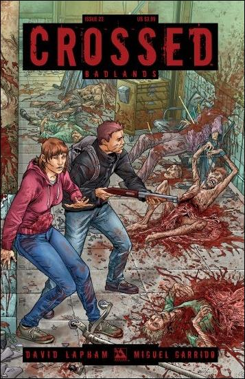 Crossed: Badlands 23-B by Avatar Press