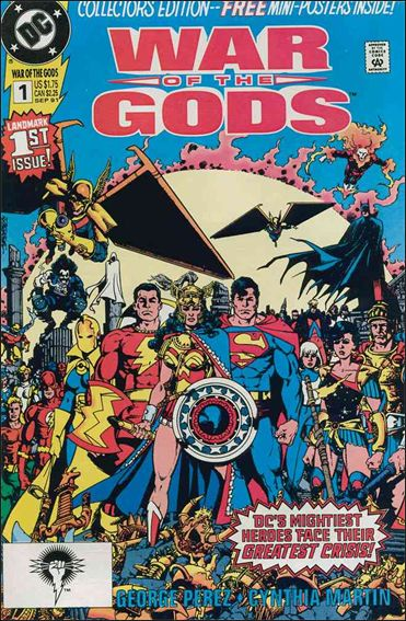 War of the Gods 1-A by DC