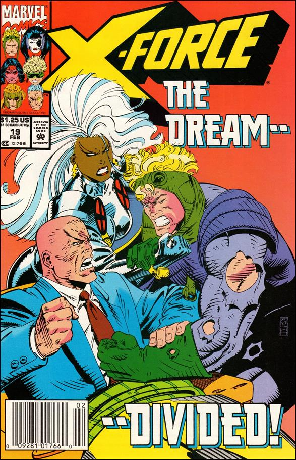 X-Force (1991) 19-A by Marvel