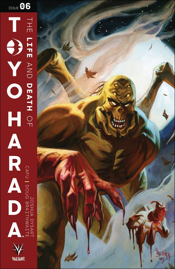 Life and Death of Toyo Harada 6-B by Valiant Entertainment