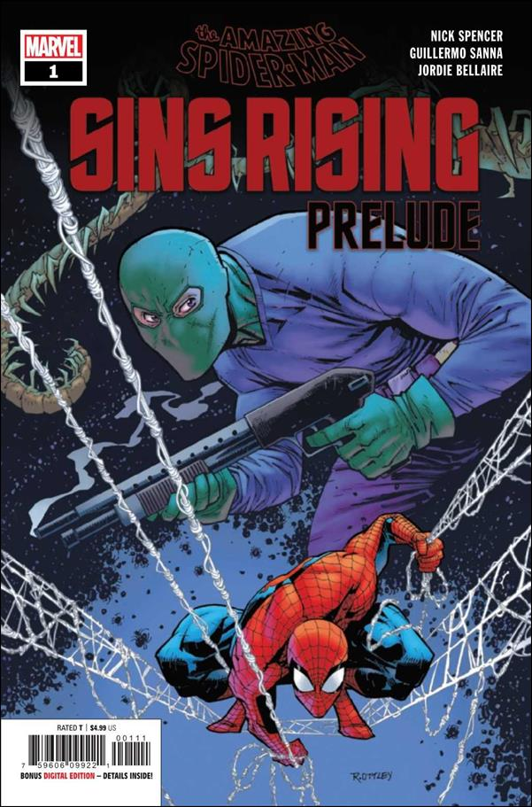 Amazing Spider-Man: Sins Rising Prelude 1-A by Marvel
