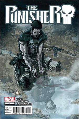 Punisher (2011) 5-A