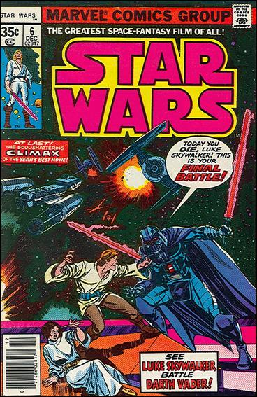 Star Wars (1977) 6-A by Marvel