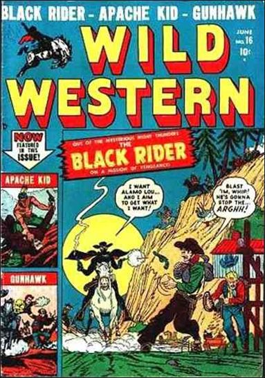 Wild Western 16-A by Marvel