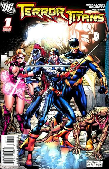 Terror Titans 1-A by DC