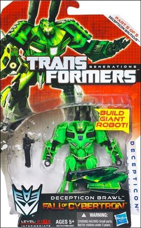 Transformers: Generations (Deluxe Class) Series 2 Decepticon Brawl (Fall of Cybertron)