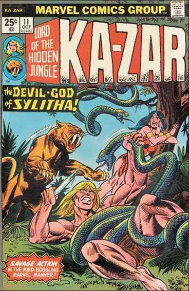 Ka-Zar (1974) 11-A by Marvel