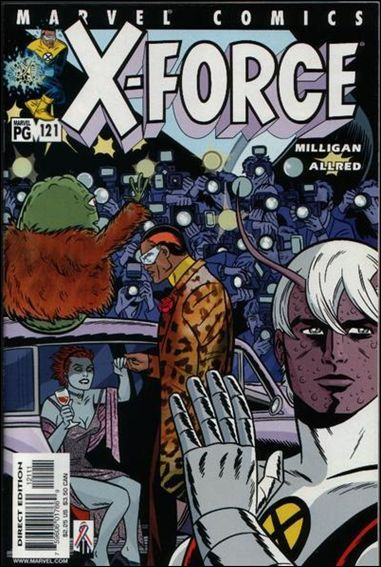 X-Force (1991) 121-A by Marvel
