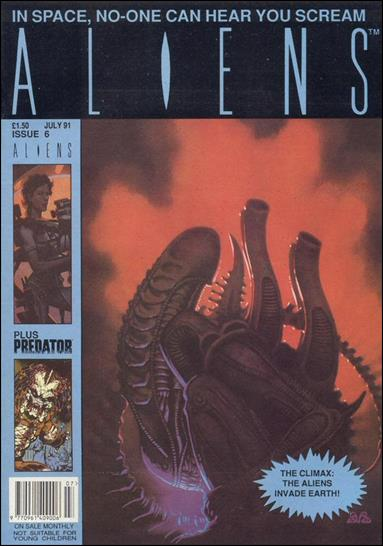 Aliens (UK) (1991) 6-A by Trident Comics