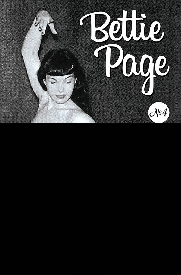 Bettie Page: The Curse of the Banshee 4-F by Dynamite Entertainment