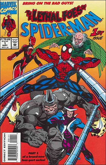 Lethal Foes of Spider-Man 1-A by Marvel