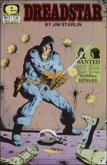 Dreadstar (1982) 3-A by Epic