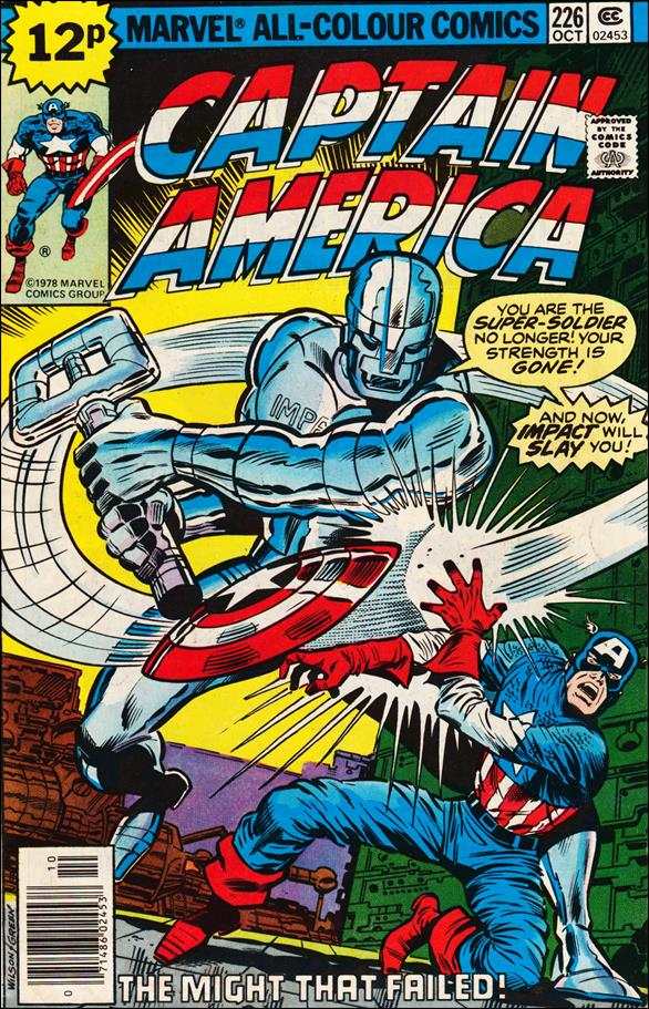 Captain America (1968) 226-B by Marvel