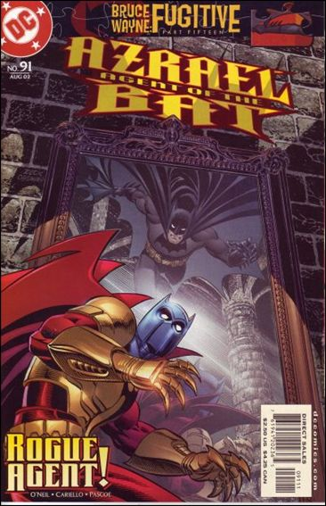 Azrael (1995) 91-A by DC