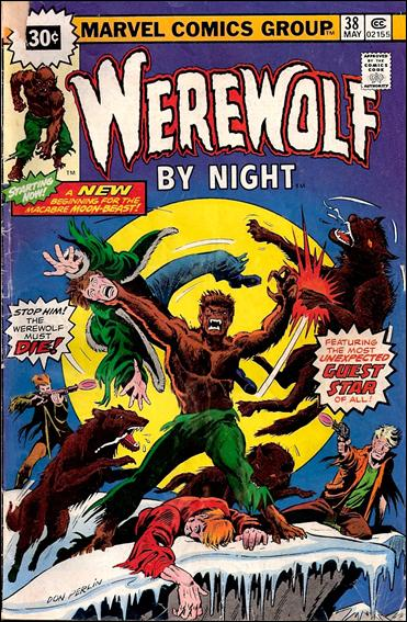 Werewolf by Night (1972) 38-B by Marvel