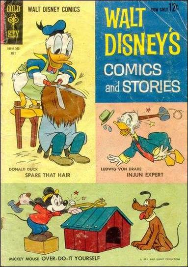 Walt Disney's Comics and Stories (1940) 272-A by Dell
