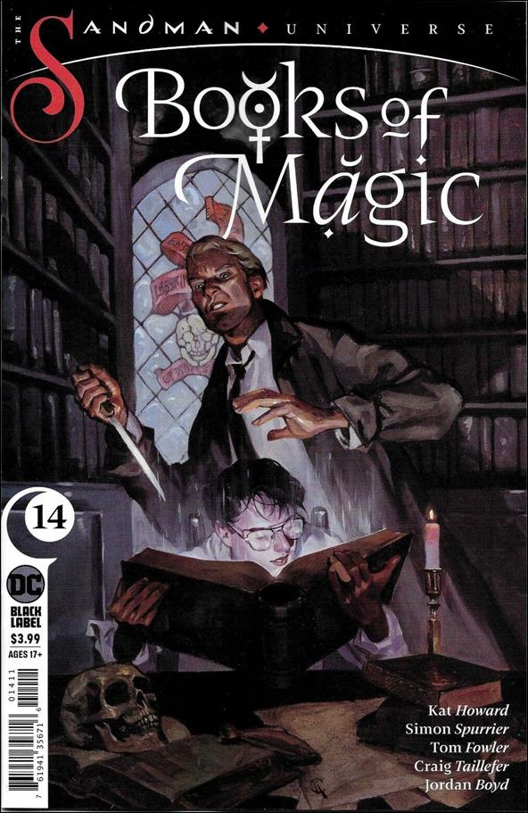 Books of Magic (2018) 14-A by DC Black Label
